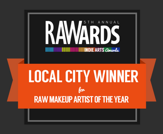 I won!!! Such an honor to be named the RAW:San Francisco 2013 Makeup Artist of the Year!